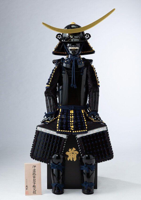 七五三撮影:伊達政宗公の鎧兜の写真
