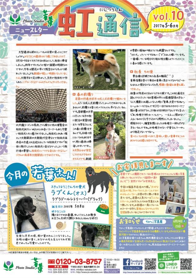 虹通信vol.10(2017年5・6月号)
