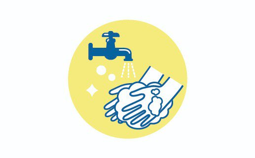 イラスト:手洗い