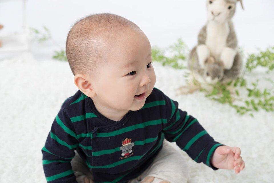 佐藤琉の赤ちゃん写真を拡大表示する
