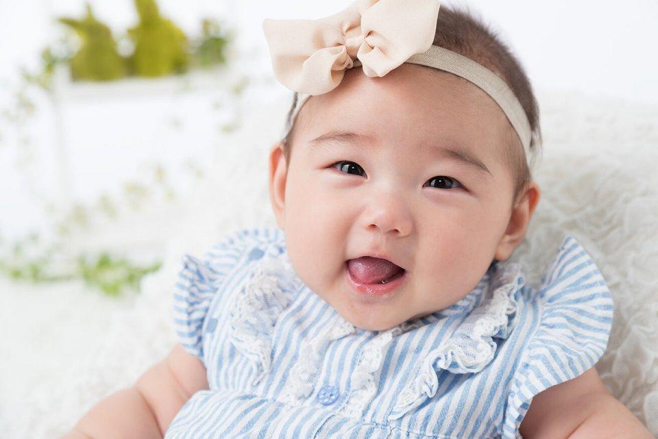 茂木歩嘉の赤ちゃん写真を拡大表示する