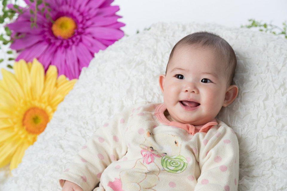 堀江芽依の赤ちゃん写真を拡大表示する