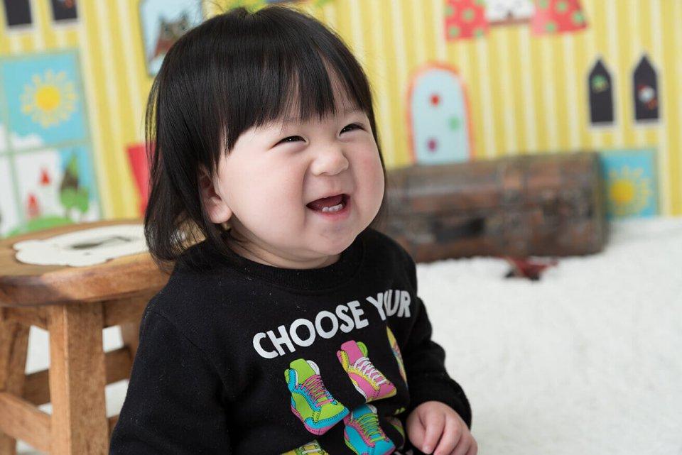 小林聖也の赤ちゃん写真を拡大表示する