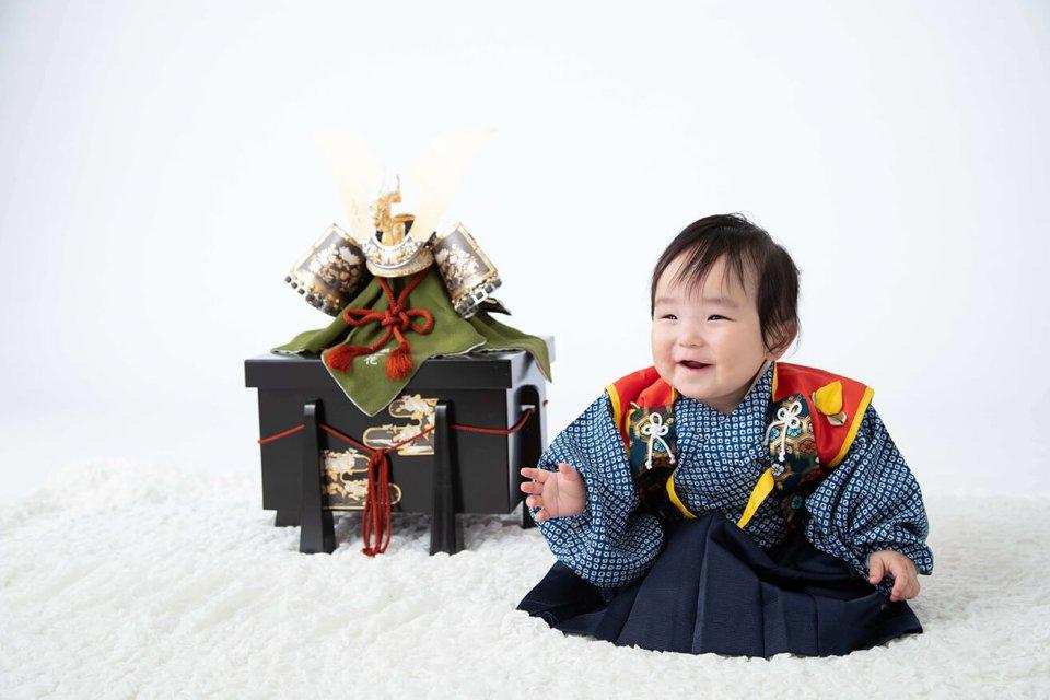 谷米結斗の赤ちゃん写真を拡大表示する