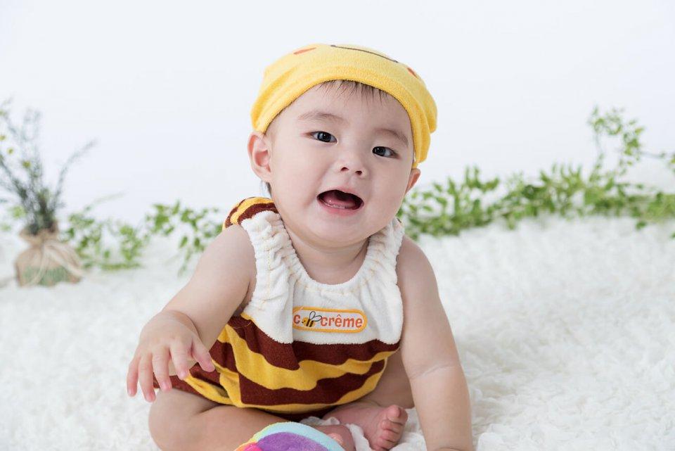 佐藤絢斗の赤ちゃん写真を拡大表示する