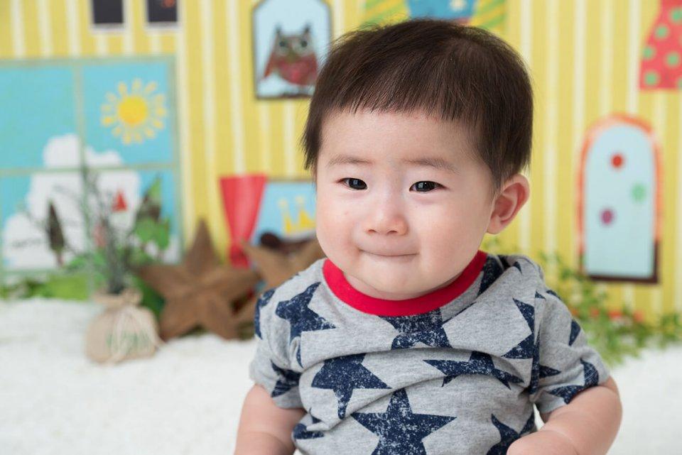 松田誉の赤ちゃん写真を拡大表示する